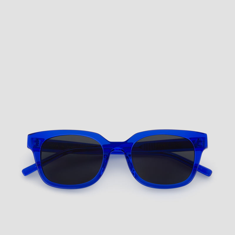 Front View of Chess Club Egyptian Blue Sunglasses