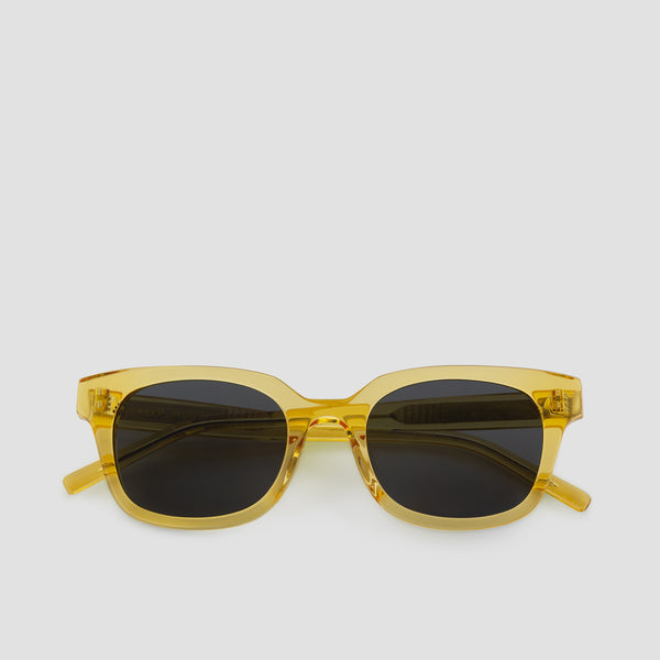 Front View of Chess Club Blond Black Sunglasses