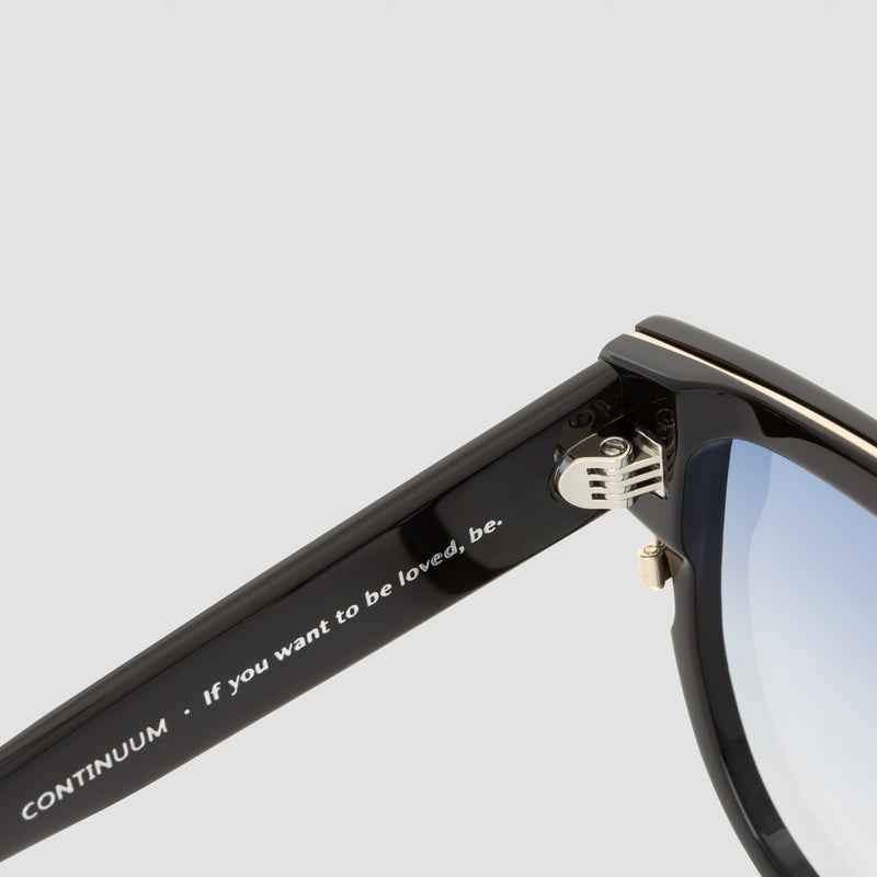 Detail shot of Continuum Deep Breath Sunglasses