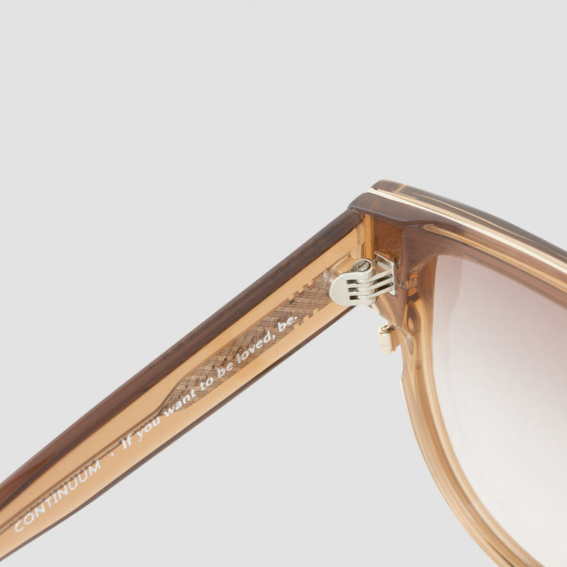 Detail shot of Continuum Soft Focus Sunglasses