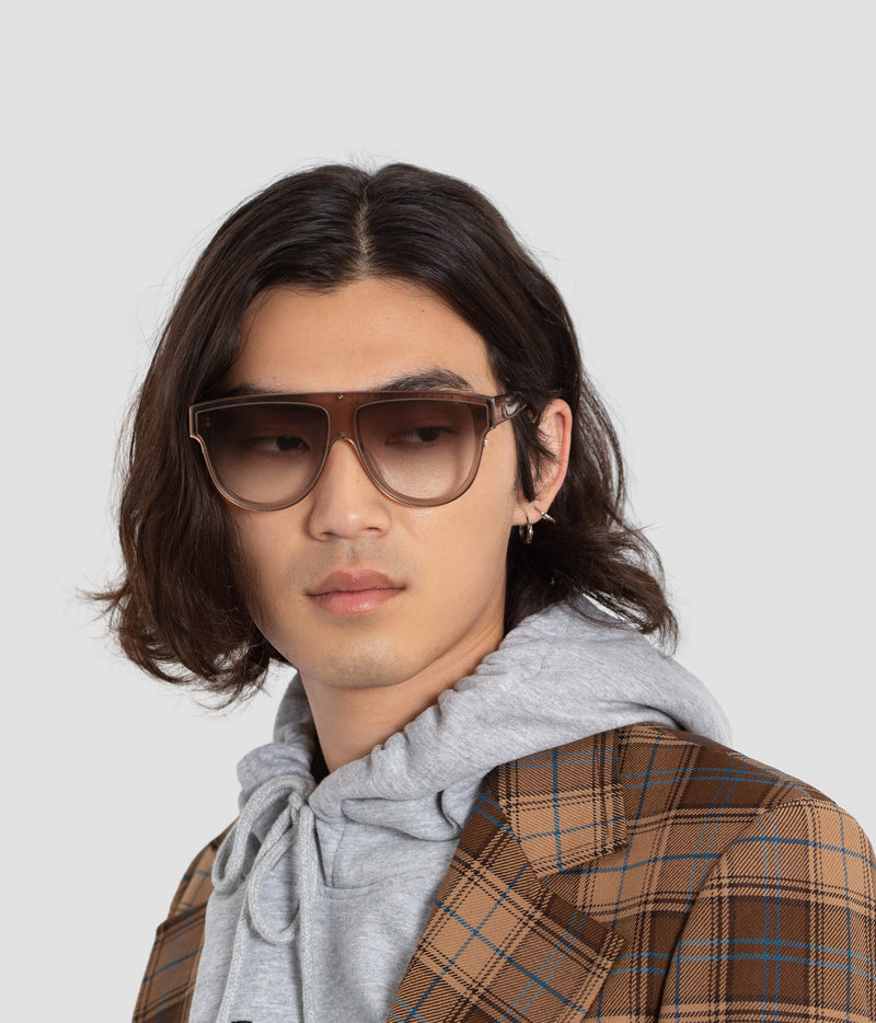 Male Model wearing Continuum Soft Focus Sunglasses