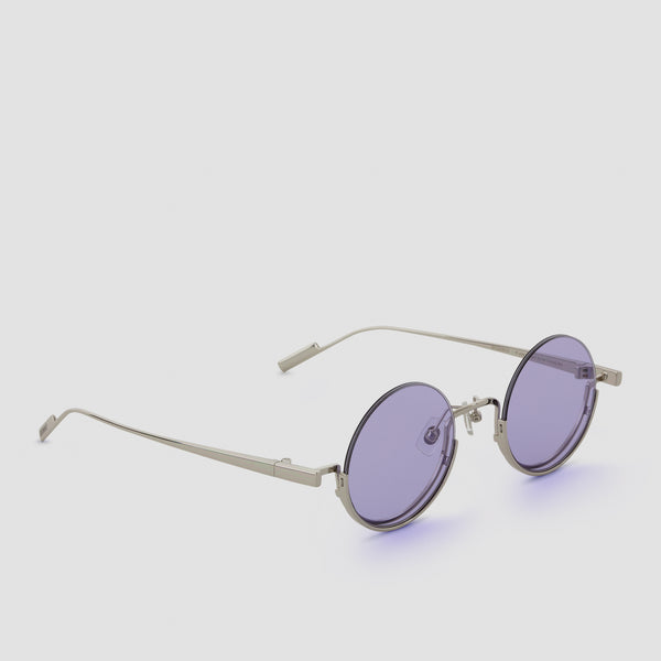 Quarter View of Desierto Lavender Sunglasses