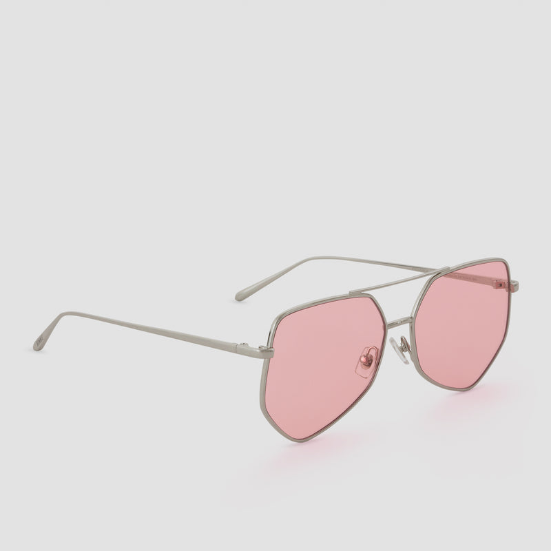 Quarter View of Figueroa Himalayan Sugar Sunglasses