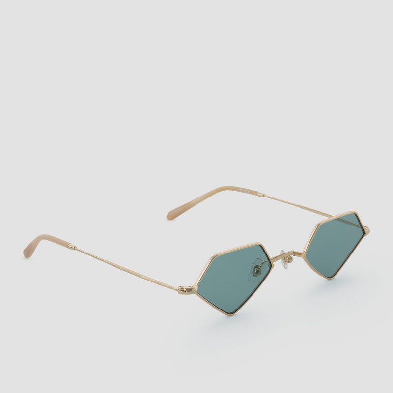 Quarter View of For Eva Apple Caramel Sunglasses