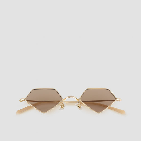 Front View of For Eva Butterscotch Sunglasses