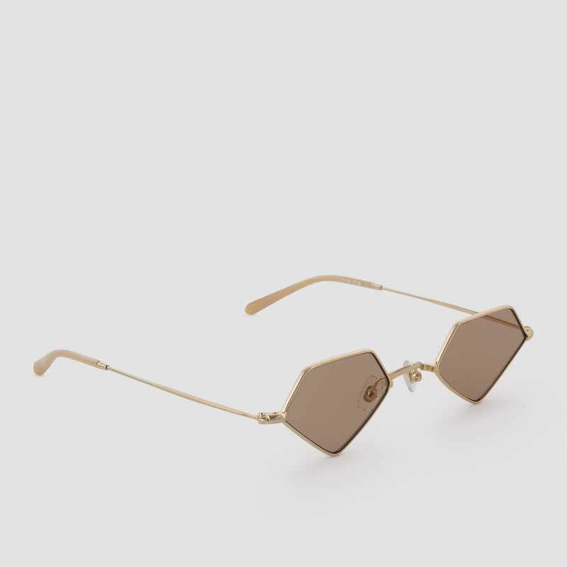 Quarter View of For Eva Butterscotch Sunglasses