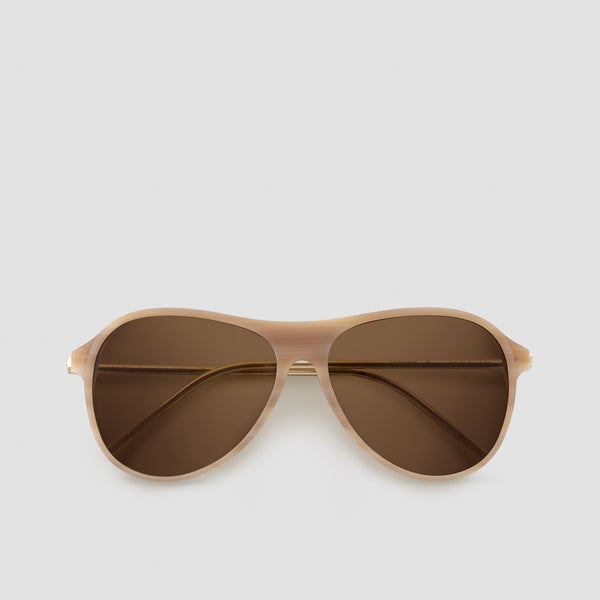Front View of Godspeed Cinnamon Sunglasses
