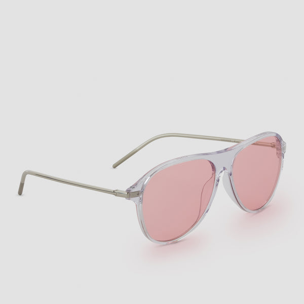 Quarter View of Godspeed Pink Sunglasses