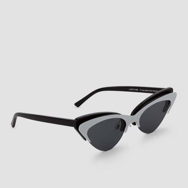 Quarter View of Layer Cake Cookies n' Cream Sunglasses