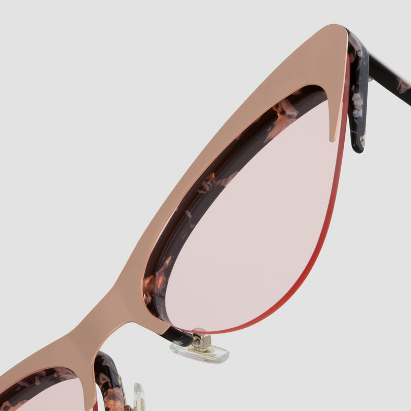 Detail shot of Layer Cake Creme Brulee Sunglasses