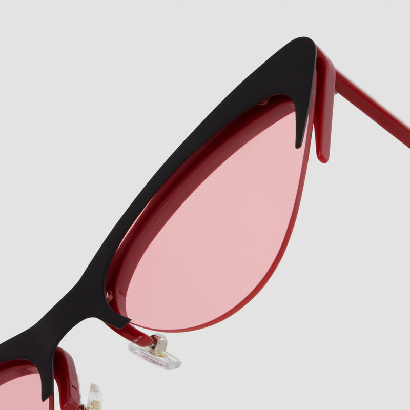 Detail shot of Layer Cake Red Velvet Sunglasses