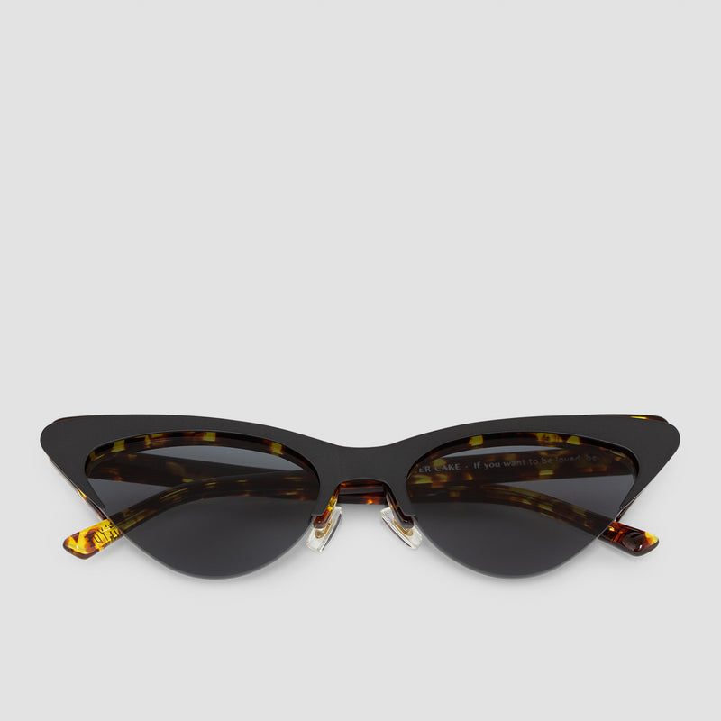 Front View of Layer Cake Coffee Toffee Sunglasses