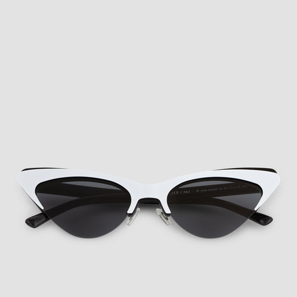 Front View of Layer Cake Cookies n' Cream Sunglasses