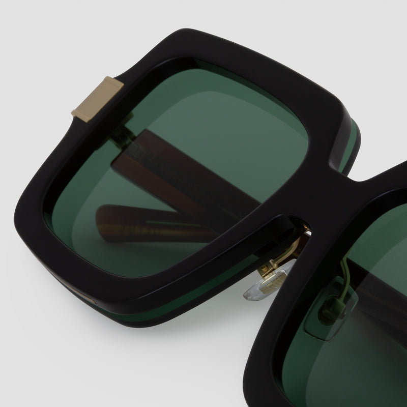 Detail shot of Mancuso 8-Track Sunglasses