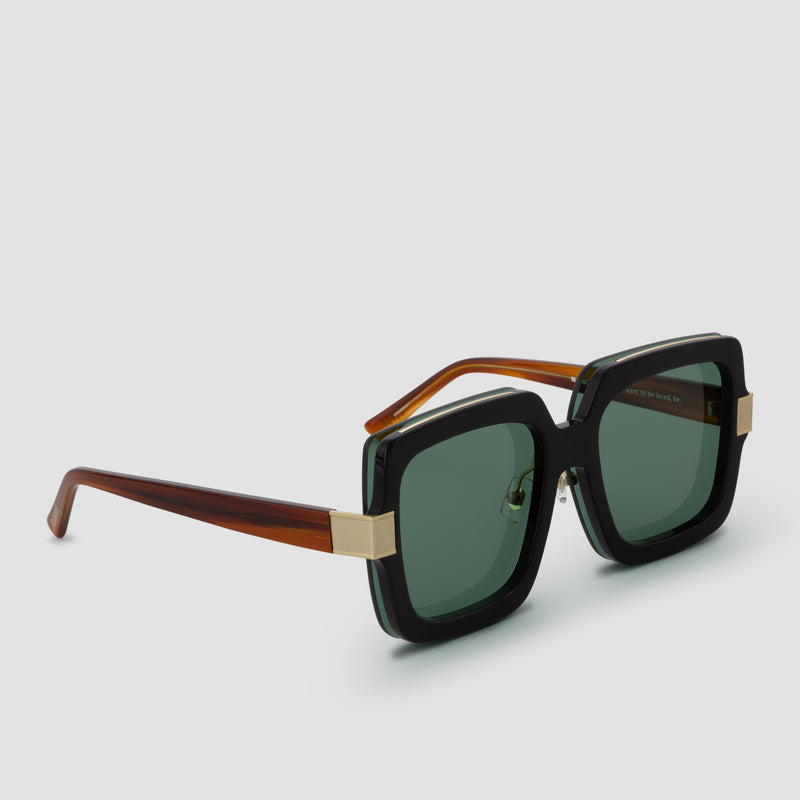 Quarter View of Mancuso 8-Track Sunglasses