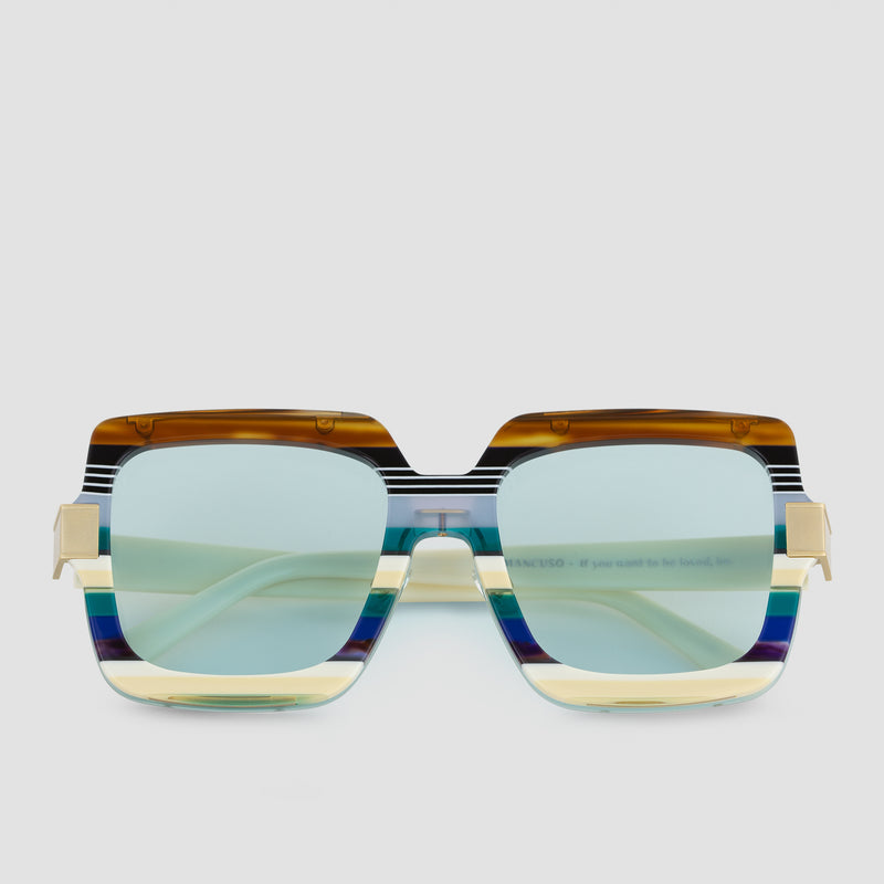 Front View of Mancuso Disco Daddy Sunglasses