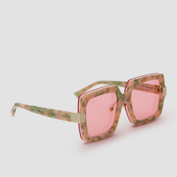 Quarter View of Mancuso Last Dance Sunglasses