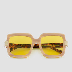 Front View of Mancuso Le Freak Sunglasses