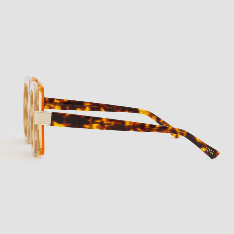 Side View of Mancuso Le Freak Sunglasses