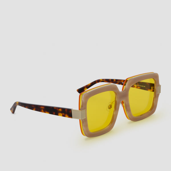 Quarter View of Mancuso Le Freak Sunglasses