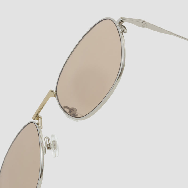 Detail shot of Melody Mixed Alloy-Almond Sunglasses