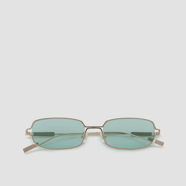 Front View of Petrichor Cold Gold Sunglasses