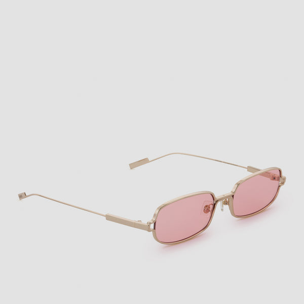 Quarter View of Petrichor Himalayan Gold Sunglasses