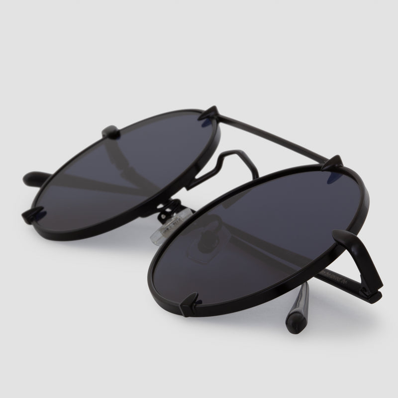 Detail shot of Pico Bushido Black Sunglasses