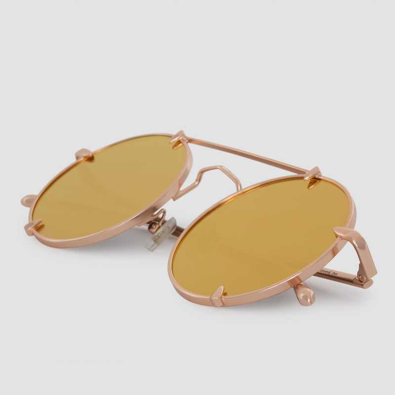 Detail shot of Pico Palace Gold (Mirror) Sunglasses