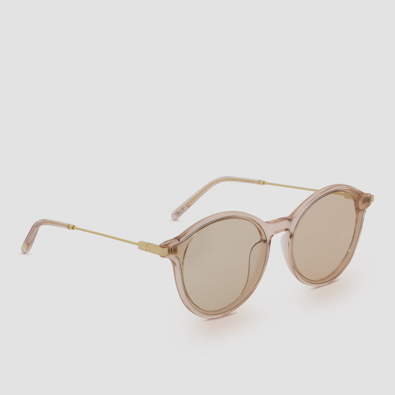 Quarter View of Summit Almond Sunglasses