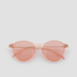 Front View of Summit Coral Sunglasses