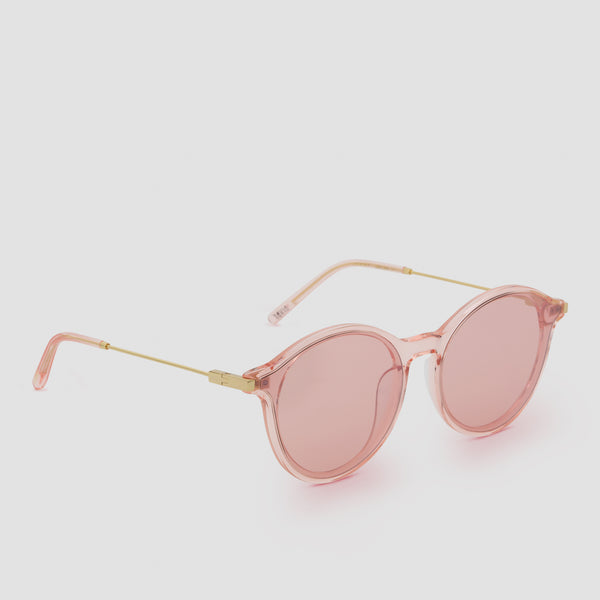 Quarter View of Summit Coral Sunglasses
