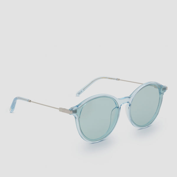 Quarter View of Summit Cyan Sunglasses