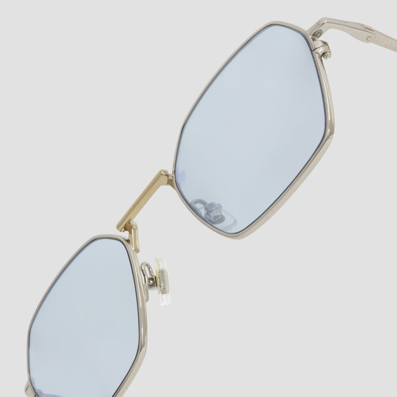 Detail shot of Tempo Mixed Alloy-Tian Blue Sunglasses