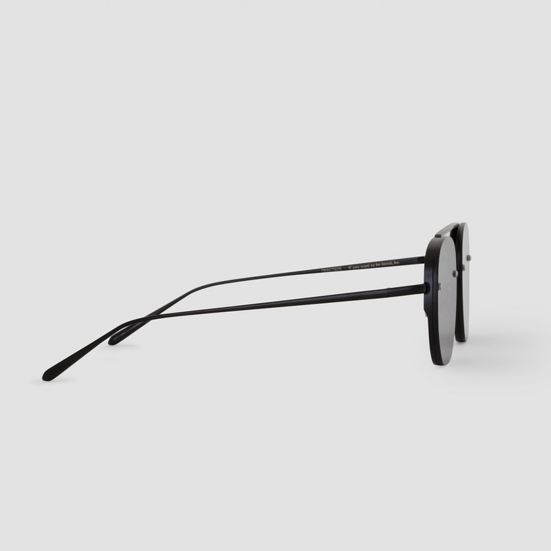 Side View of Traction Bushido Black Sunglasses