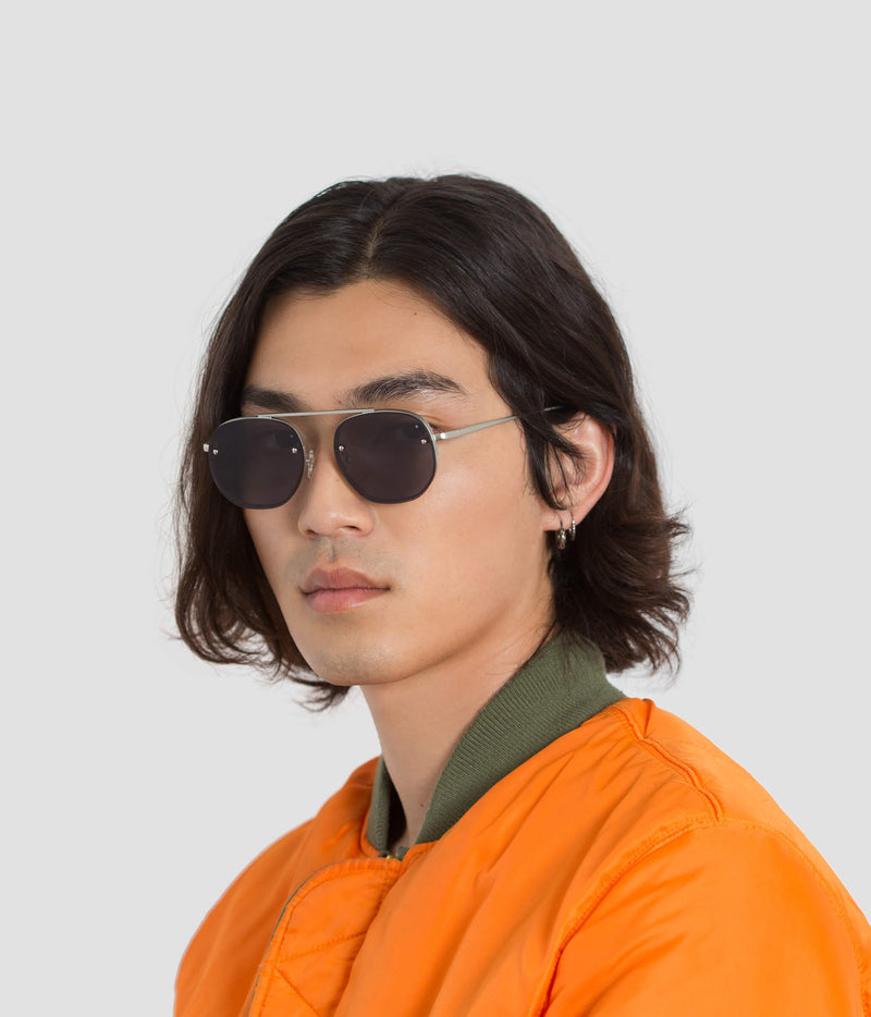 Male Model wearing Traction Ill Future Sunglasses
