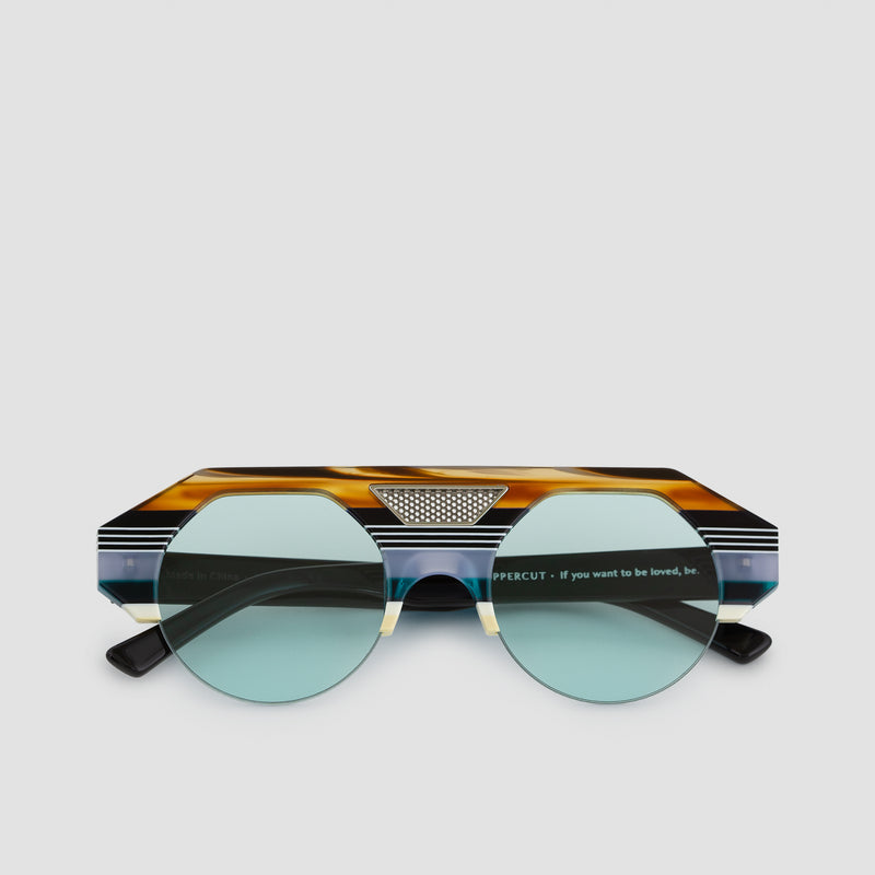 Front View of Uppercut 5th Element Sunglasses