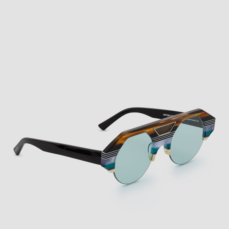 Quarter View of Uppercut 5th Element Sunglasses
