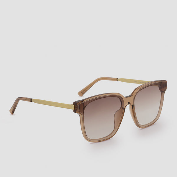 Quarter View of Wall Almond Sunglasses