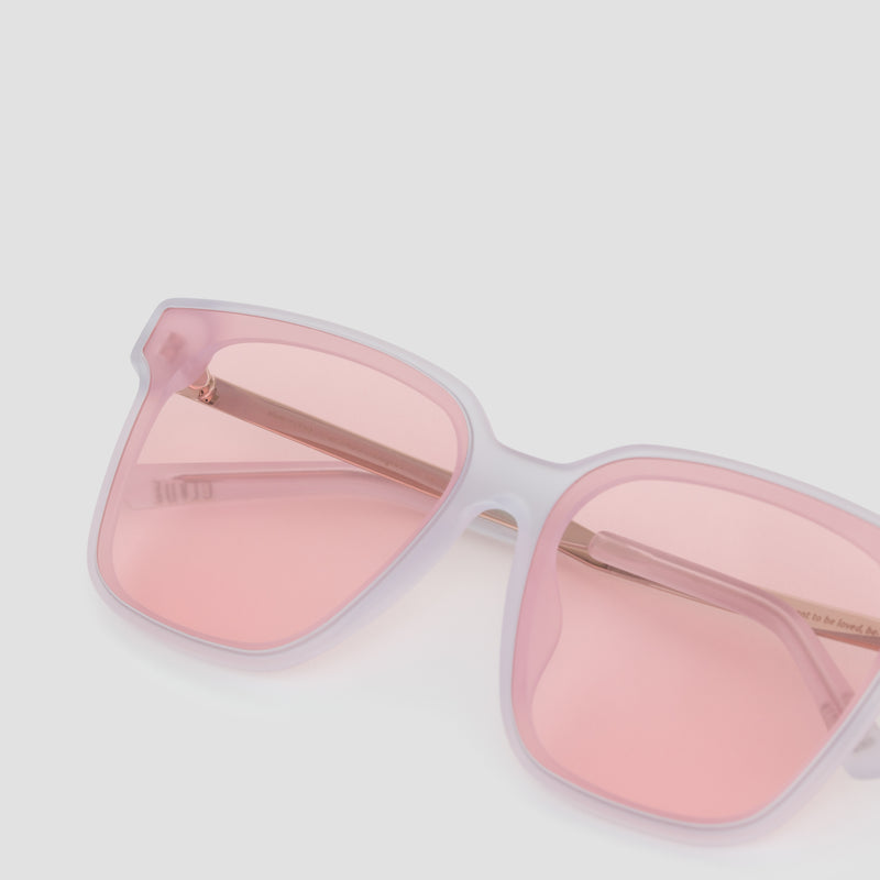Detail shot of Wall Pure Matte-Himalayan Sugar Sunglasses