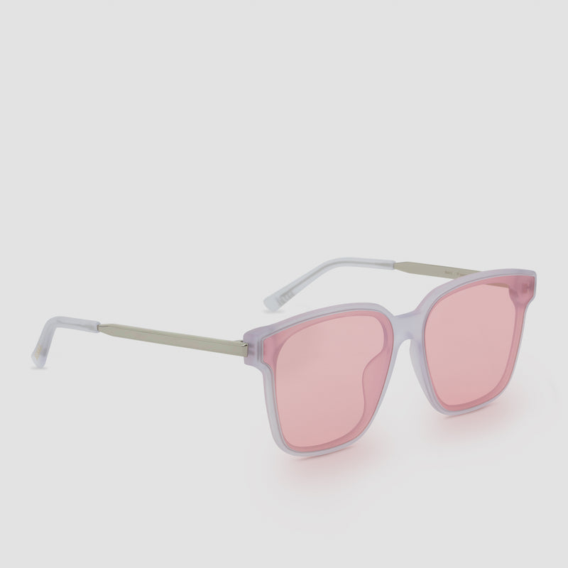 Quarter View of Wall Pure Matte-Himalayan Sugar Sunglasses