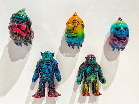 Ghost and Ghost Catcher Resin Magnets