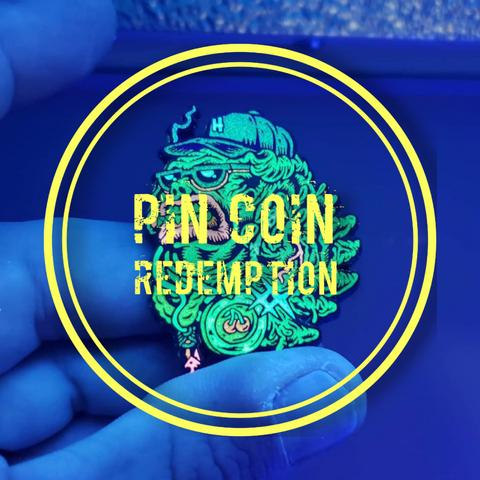 Hooch Pin Coin Redemption