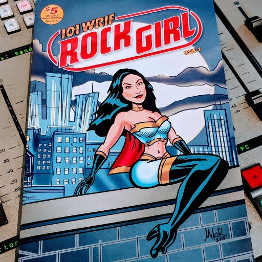WRIF Rock Girl Comic Issue 2