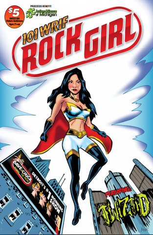 WRIF Rock Girl Comic Issue 1