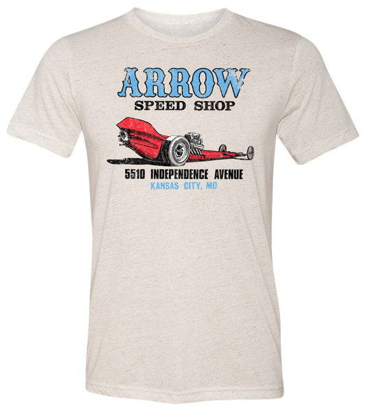 Arrow Speed Shop Kansas City | Short Sleeve Tee By RoAcH T-shirts