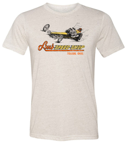 Lou's Speed Shop Toledo, OH | Short Sleeve Tee By RoAcH T-shirts