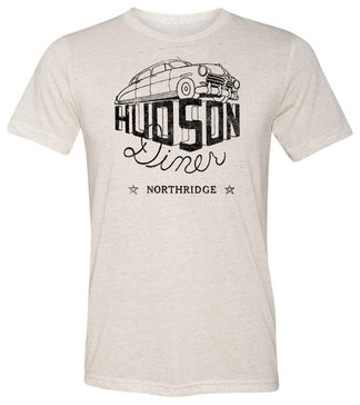Hudson Diner Northridge California | Short Sleeve Tee By RoAcH T-shirts