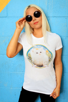 Cute Kitty | Women's Fitted Tee