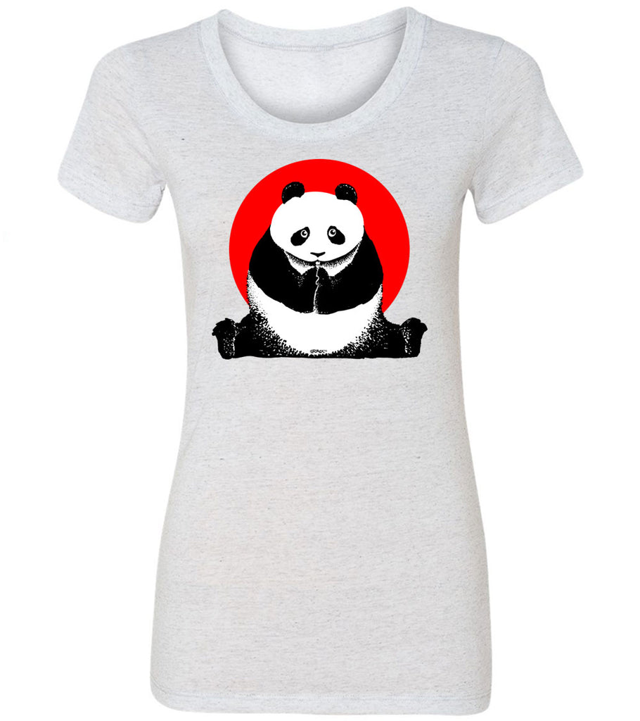 Nixon China Panda  | Women's Fitted Tee